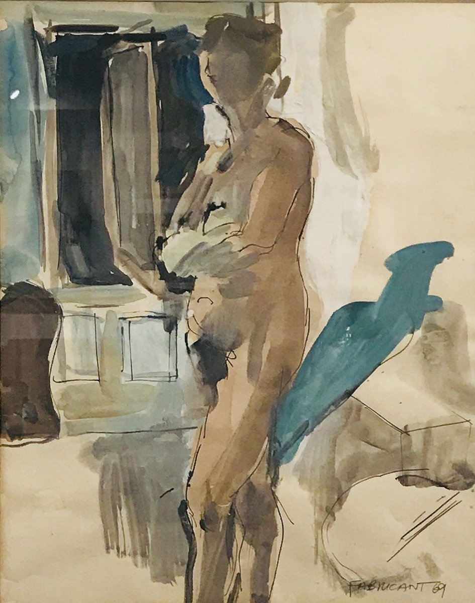 Female Nude in Interior